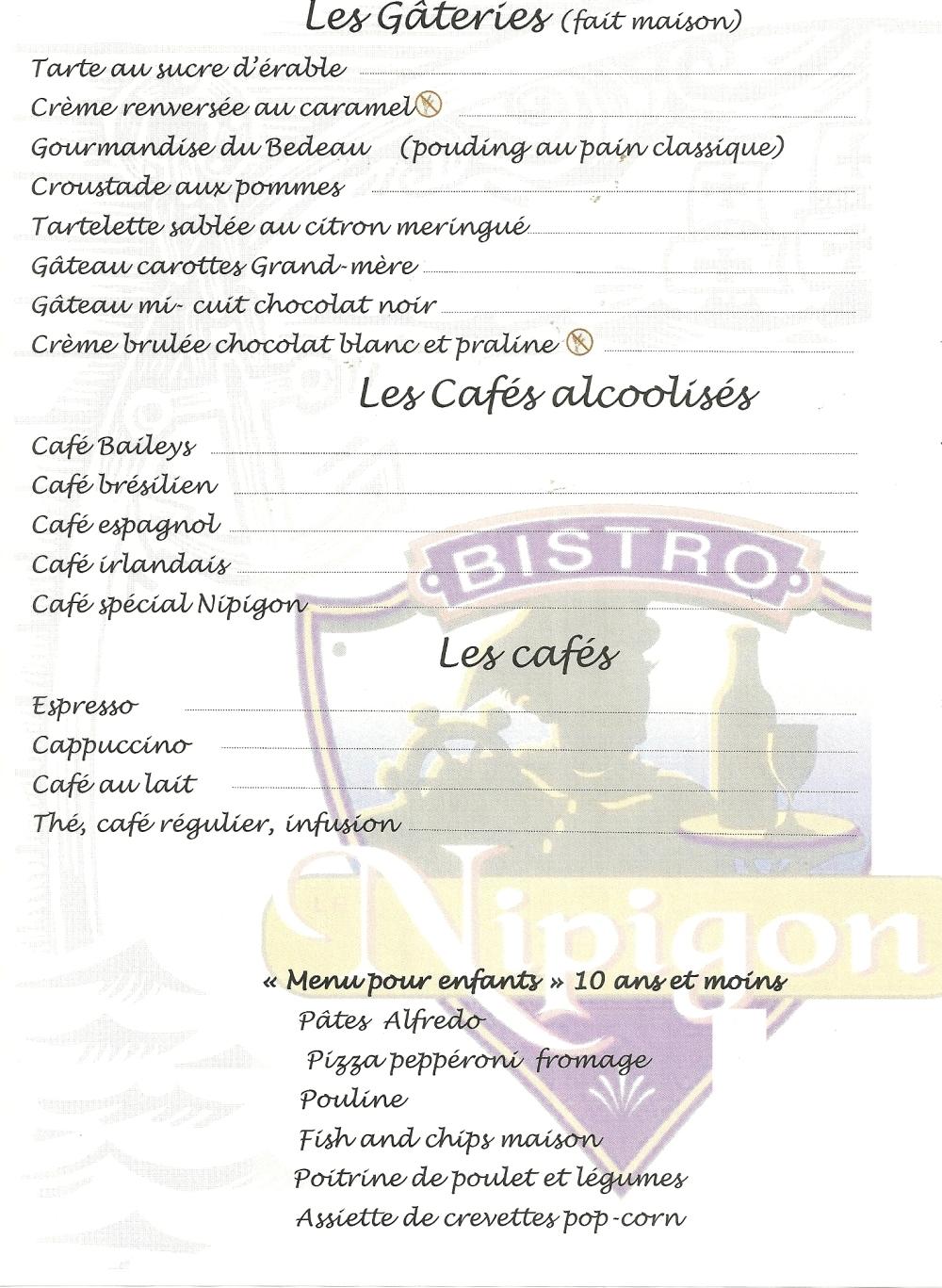 midi - gateries + cafés